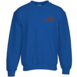 View a larger, more detailed picture of the Gildan 9 3 oz DryBlend 50 50 Crew Sweatshirt