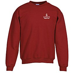 View a larger, more detailed picture of the Gildan 8 oz Heavy Blend 50 50 Crew Sweatshirt
