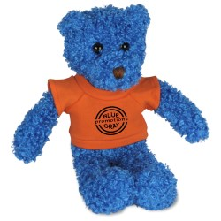View a larger, more detailed picture of the Tropical Flavor Bear - Blue