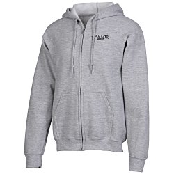 View a larger, more detailed picture of the Gildan 50 50 DryBlend Full Zip Hoodie - Screen