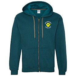 View a larger, more detailed picture of the Gildan Heavy Blend Vintage Full Zip Hoodie - Men s - Emb
