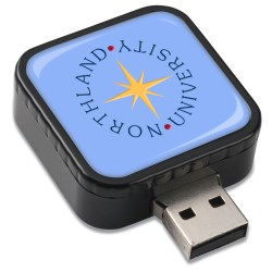 View a larger, more detailed picture of the Swivel Cube USB Drive - 1GB
