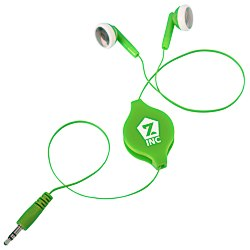 View a larger, more detailed picture of the Retractable Colored Ear Buds
