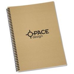 View a larger, more detailed picture of the Spiral Matte Laminated Notebook - 10 x 7