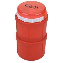 View a larger, more detailed picture of the Double Thermo Lunch Container - Closeout