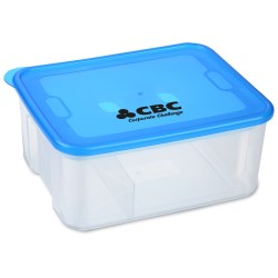 View a larger, more detailed picture of the Freeze and Go Lunch Container - Closeout