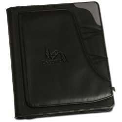 View a larger, more detailed picture of the Summit Zippered Padfolio - Closeout