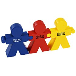 View a larger, more detailed picture of the Teamwork Puzzle Stress Reliever Set - 24 hr