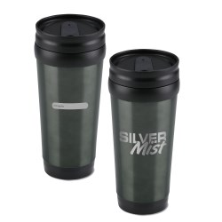 View a larger, more detailed picture of the ID Stainless Steel Tumbler - 15 oz - Closeout Colors