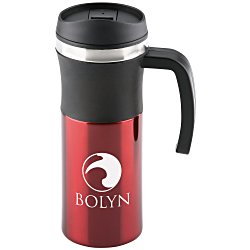 View a larger, more detailed picture of the Malmo Travel Handle Mug - 16 oz