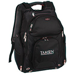 View a larger, more detailed picture of the elleven Amped Checkpoint-Friendly Laptop Backpack