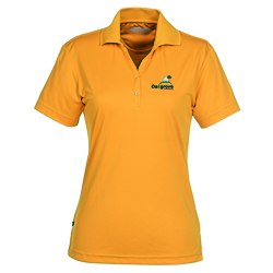 View a larger, more detailed picture of the Moreno Textured Micro Polo - Ladies