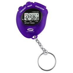 View a larger, more detailed picture of the Stopwatch Keyring - Closeout