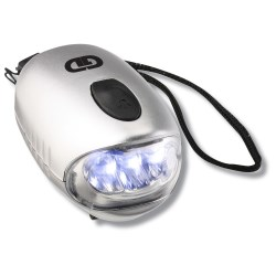 View a larger, more detailed picture of the Dynamo Bubble Flashlight - Closeout