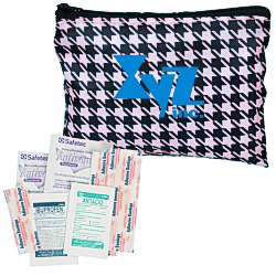View a larger, more detailed picture of the Fashion First Aid Kit - Houndstooth - 24 hr