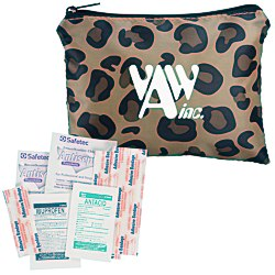 View a larger, more detailed picture of the Fashion First Aid Kit - Leopard - 24 hr