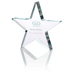 View a larger, more detailed picture of the Star Acrylic Award