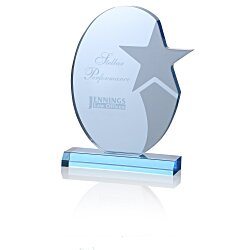 View a larger, more detailed picture of the Star Achiever Acrylic Award