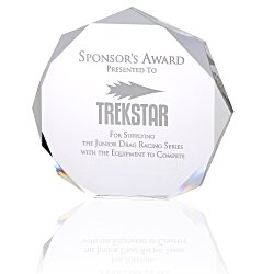 View a larger, more detailed picture of the Enterprise Octagon Acrylic Award