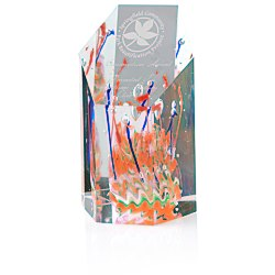 View a larger, more detailed picture of the Fascination Art Glass Award