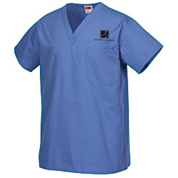 View a larger, more detailed picture of the Cornerstone Reversible V-Neck Scrub Top - Screened