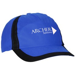 View a larger, more detailed picture of the Lightweight Cap with Black Trim - Closeout