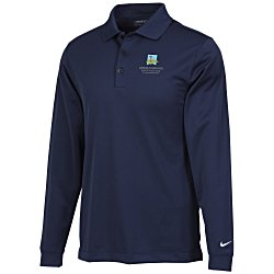 View a larger, more detailed picture of the Nike Performance Long Sleeve Stretch Polo - Men s