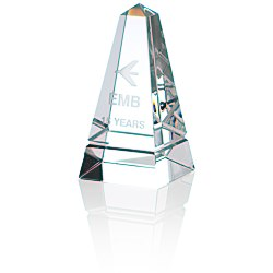 View a larger, more detailed picture of the Imperial Obelisk Crystal Award