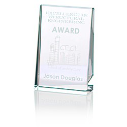 View a larger, more detailed picture of the Distinction Crystal Award - 6