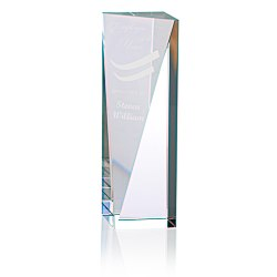 View a larger, more detailed picture of the Skyline Sheared Crystal Tower Award - 8