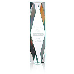 View a larger, more detailed picture of the Diamond Crystal Tower Award - 10