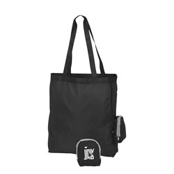 View a larger, more detailed picture of the Hideaway Foldable Tote - Closeout