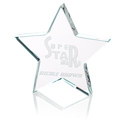 View a larger, more detailed picture of the Star Crystal Award - 5