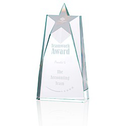 View a larger, more detailed picture of the Shooting Star Crystal Award - 9