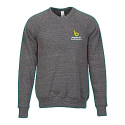 View a larger, more detailed picture of the Canvas Tri-Blend Sponge Fleece Crewneck - Embroidery