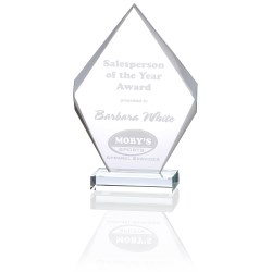 View a larger, more detailed picture of the Inspire Starfire Glass Award - 9