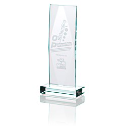View a larger, more detailed picture of the Captivate Starfire Glass Award - 9 