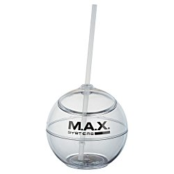 View a larger, more detailed picture of the Fiesta Ball Tumbler w Straw - 22 oz