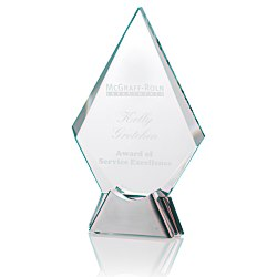 View a larger, more detailed picture of the Talent Glass Award - Diamond