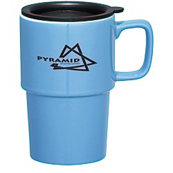 View a larger, more detailed picture of the Contra Ceramic Mug - 16 oz