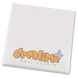 View a larger, more detailed picture of the Bic See Thru Adhesive Notepad - 3 x 3 - 50 Sheet