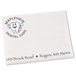 View a larger, more detailed picture of the Bic See Thru Adhesive Notepad - 3 x 4 - 50 Sheet