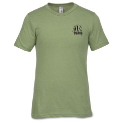 View a larger, more detailed picture of the Canvas Heather T-Shirt - Men s