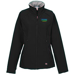View a larger, more detailed picture of the Ultima Soft Shell Jacket - Ladies