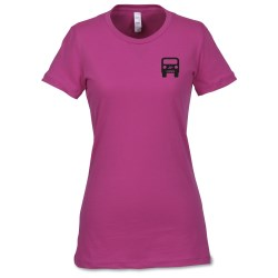 View a larger, more detailed picture of the Bella Made in the USA Favorite Tee - Ladies - Colors