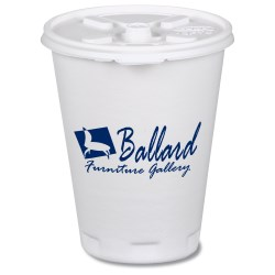 View a larger, more detailed picture of the Trophy Hot Cold Cups w Tear Tab Lid - 12oz - Low Qty