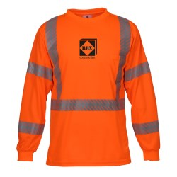 View a larger, more detailed picture of the ML Kishigo Class 3 LS Safety T-Shirt