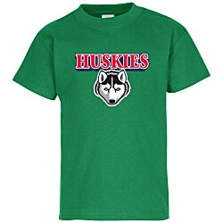 View a larger, more detailed picture of the Hanes Tagless T-Shirt - Youth - Full Color - Colors