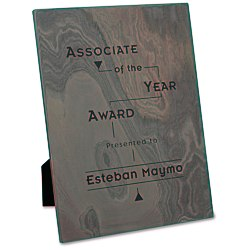 View a larger, more detailed picture of the Slate Prestige Plaque - 12