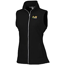 View a larger, more detailed picture of the Port Authority Microfleece Vest - Ladies